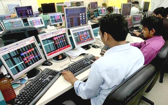 Indices end flat, Sensex slips 27 points