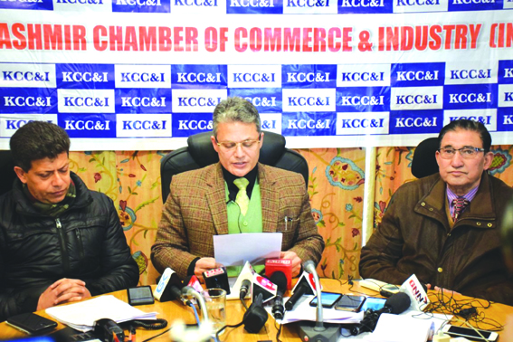 KCCI hits out at their Jammu counterparts, threatens to snap trade ties