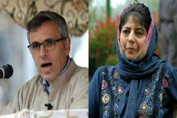 Omar, Mehbooba advocate against war, bat for peace