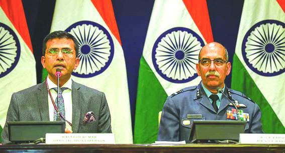 Pakistan used Air Force to target India's military installations, bid foiled: MEA