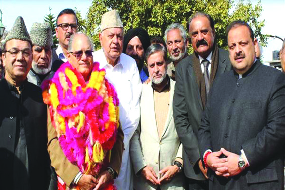 Restoring peace, upholding dignity of people our priority: Dr Farooq