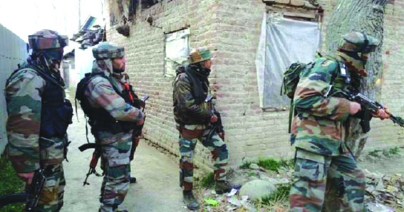 4 forces personnel, militant killed in Handwara gunfight
