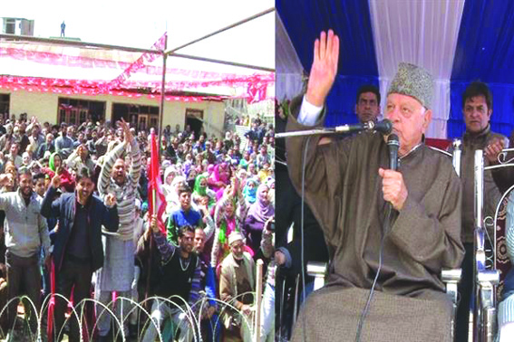 Any attempt to harm Art 370, 35A will cast shadow on accession: Dr Farooq