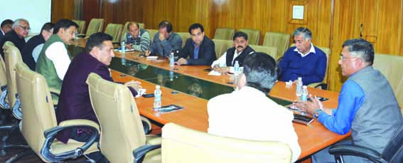 CEO seeks cooperation from political parties for smooth conduct of elections