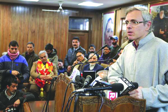 Modi govt weakening 'relationship' between centre, state in Kashmir: Omar