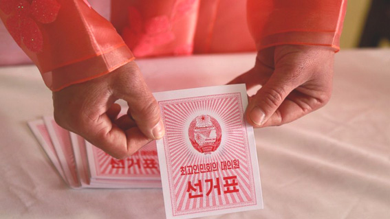 North Korea goes to polls to approve new parliament lineup