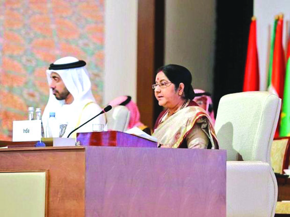 Terrorism caused by 'distortion of religion', 'misguided belief': Swaraj tells OIC