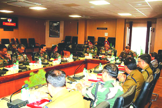 Army Commander reviews security situation in Kashmir ahead of Lok Sabha elections