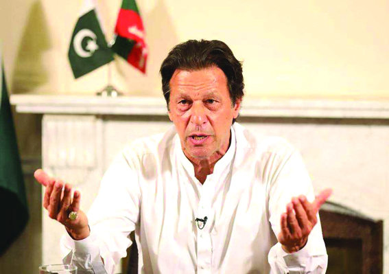 Better chance of peace with India if BJP wins elections: Imran Khan