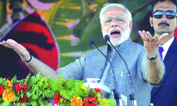 Congress plans on AFSPA to put armed forces at risk: PM