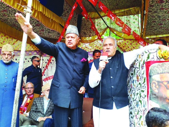 Those attacking Art 370, 35 A are playing with fire: Dr Farooq