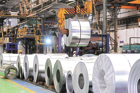 India fears dumping of Chinese steel