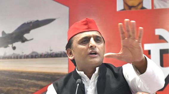 'One-by-one, we will defeat all chowkidars,' says Akhilesh