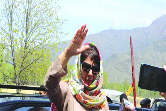 Will approach court: Mehbooba