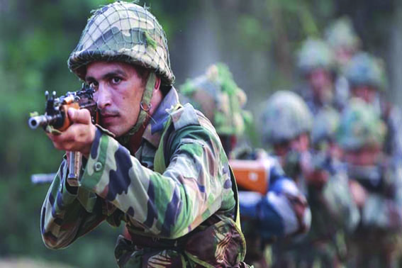 India Pakistan Trader Fire Along LoC in Poonch