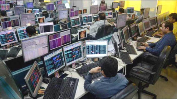 Sensex plunges 1313 points from record high on profit booking as NDA leads