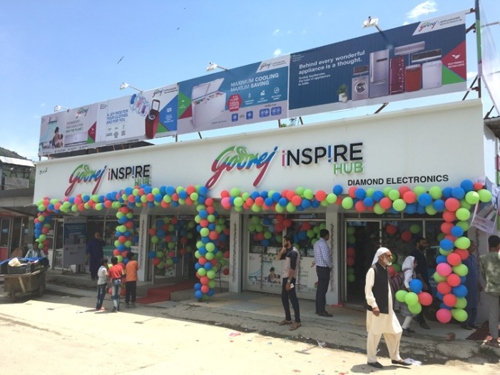 Godrej Appliances unveils its first exclusive brand outlet in Baramulla