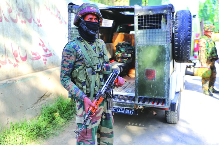 Hizb militant killed in Budgam gunfight