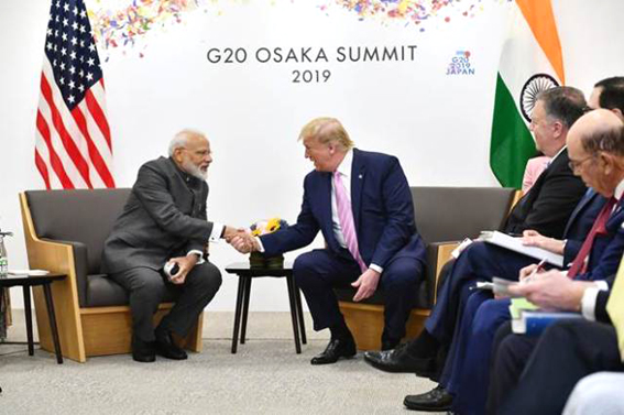 Modi, Trump agree to facilitate early meeting of commerce ministers to sort out trade disputes