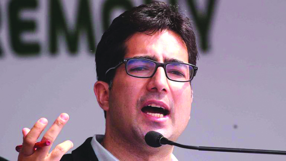 PM must not repeat his previous policies on Kashmir: Shah Faesal