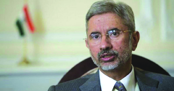 Want to see good India-Pak relations: Jaishankar