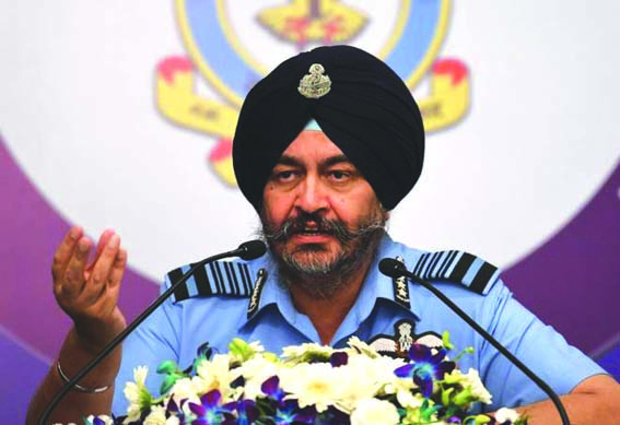 IAF prepared to fight across entire spectrum of warfare: Air Force chief