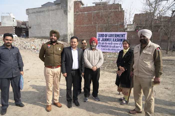 JK Govt. reclaims land in Amritsar after 56 years