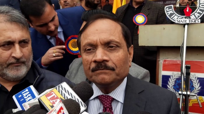 Advisor Bhatnagar, DG Police Reviews Security In Border Areas