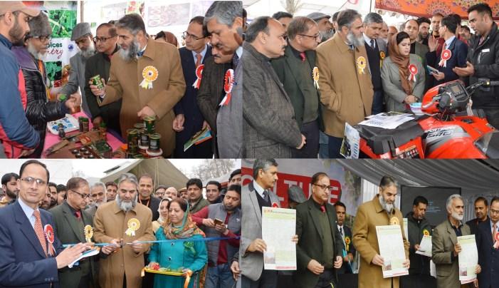 Manzoor Lone inaugurates Horticulture Mela at Srinagar