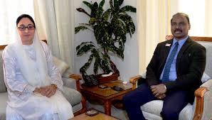 Dr. Darakhshan Andrabi meets Lt Governor