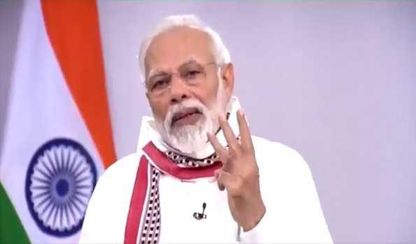 Continue fight against COVID-19: PM tells CMs