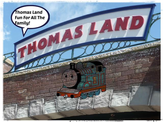 thomas land , drayton manor , rides , seo , google ,facebook, Thomas,