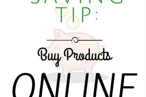 how to save money buying products online