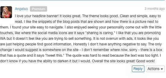 wealthy affiliate site feedback 4
