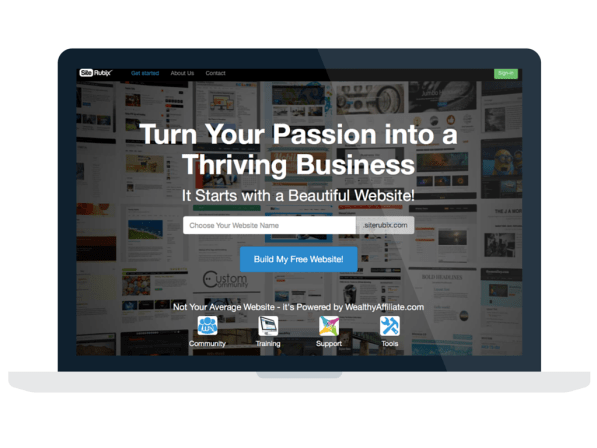Build Your FREE Website Today