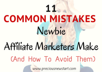 common affiliate marketing mistakes