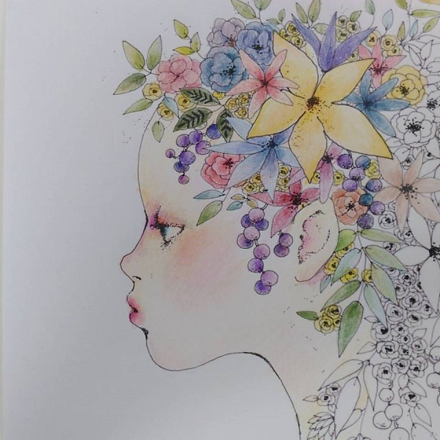 coloring by Tomoko