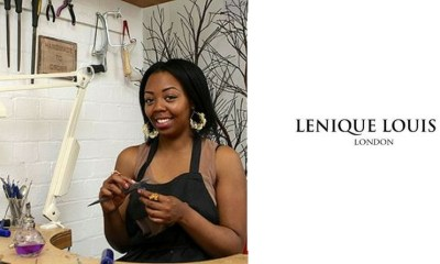 image of Lenique Louis and logo