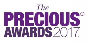 precious awards 17 logo