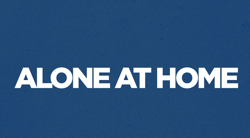 alone at home logo