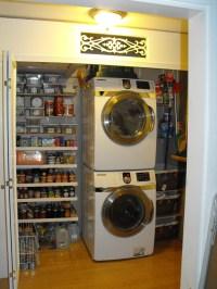 Organizing the Pantry/Laundry