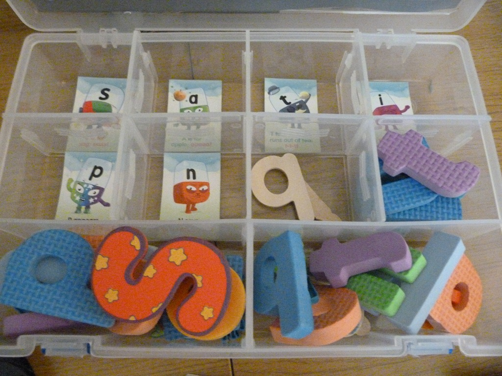 Office Briefcase Phonics Game