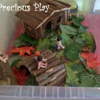 Forest People (A small world using pet toys!)