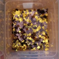 Mini Space Sensory Bin
