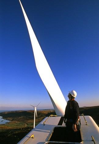 aerogenerators Shetland