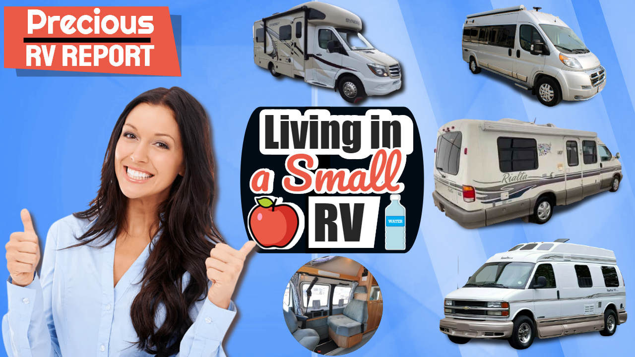 Living in a Small RV – Why Compact Class B Travel Vans are the Best!