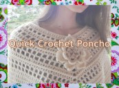Quick Woman Poncho