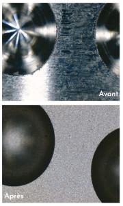 Exemple après procédé TopoJet