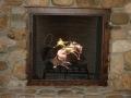 Fireplace screen - bucking bronco