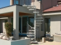 spiral stairs  - outdoor